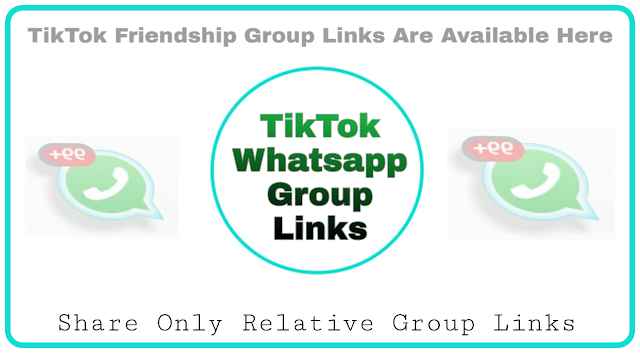 TikTok friends whatsapp group links collection - Group Links