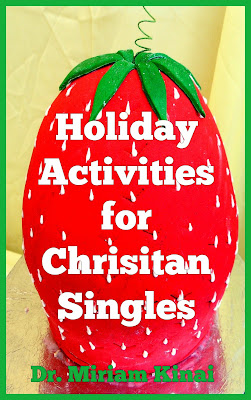 Holiday activities for Christian singles book