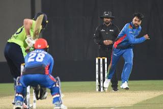 রেকর্ড গড়লেন রশিদ খান। প্রথম ক্রিকেটার হিসেবে টি-২০ ম্যাচে চার বলে চার উইকেট নিলেন। UBG NEWS