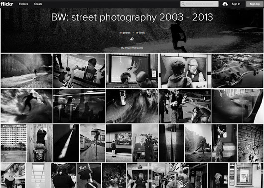 BW street photography from years 2003-2013