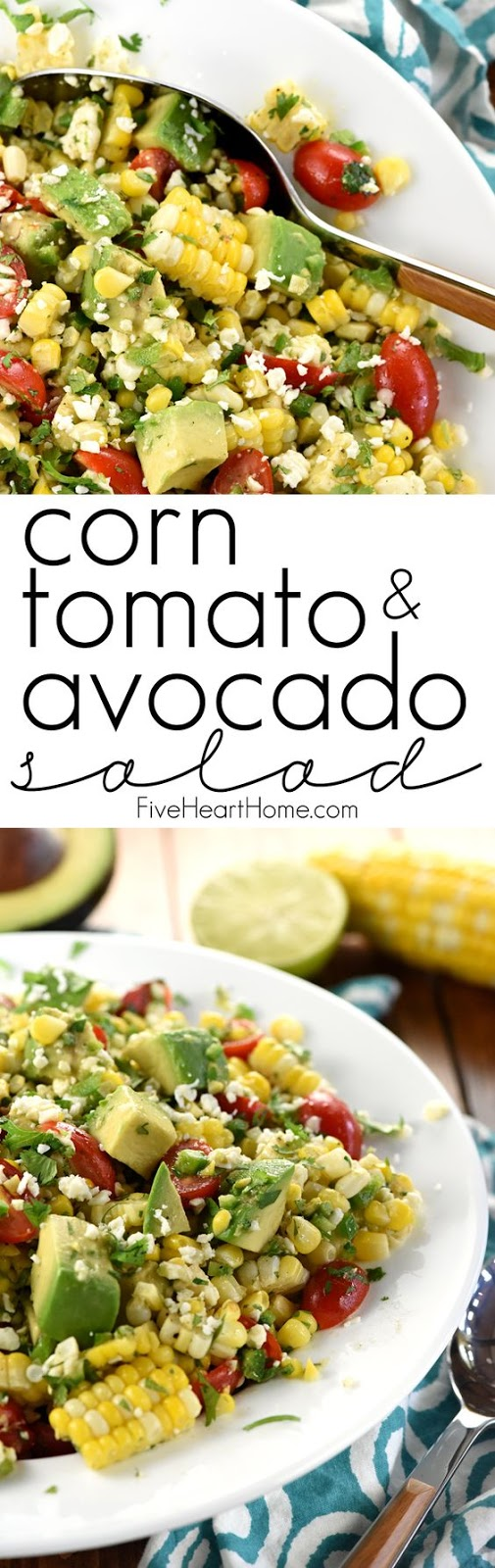 Corn, Tomato, & Avocado Salad