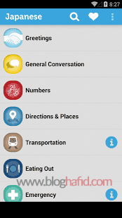 Aplikasi Learn Japanese
