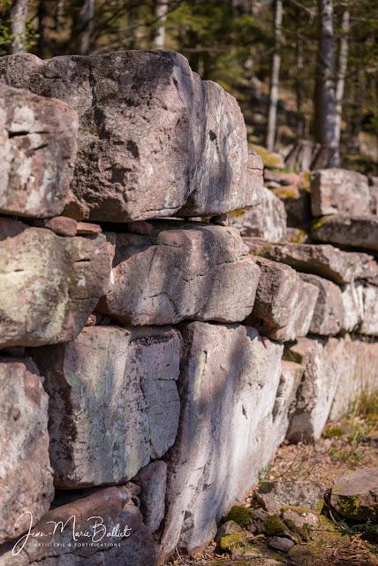 Frankenbourg — Vestiges du « mur païen » [2018]