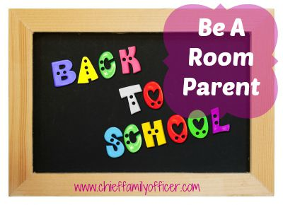 How to Be A Good Room Parent | Chief Family Officer