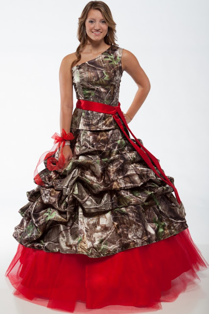 The Cheap Camo Wedding Dress