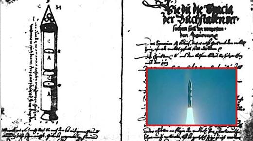 Manuscrito de Sibiu de 500 años de antigüedad describe cómo construir un cohete multietapa