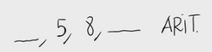 3. Términos de una progresión aritmética 3