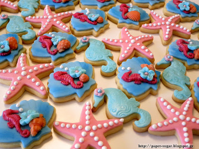 Under the sea, Cookies