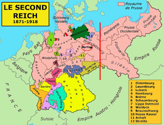 Empire allemand - Carte
