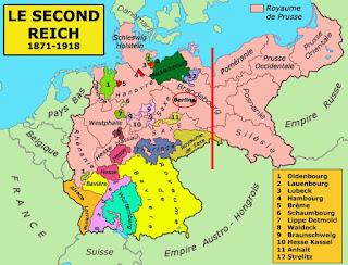 Empire allemand - Carte
