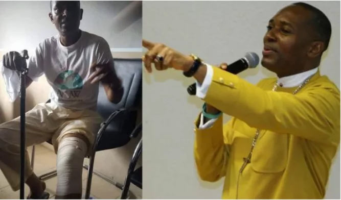 Please don't crucify me, Pastor Akan Weeks of collapsed Reigners Bible Church begs