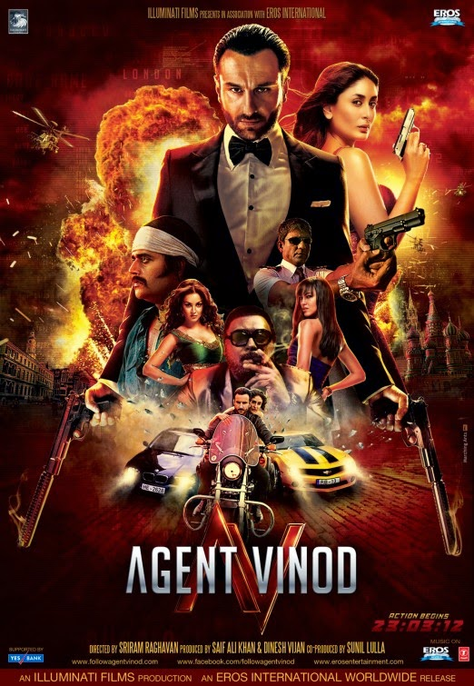 Agent Vinod 2012 Hindi 720p DVDRip 990mb