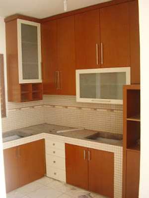Desain Kitchen Set Minimalis HPL