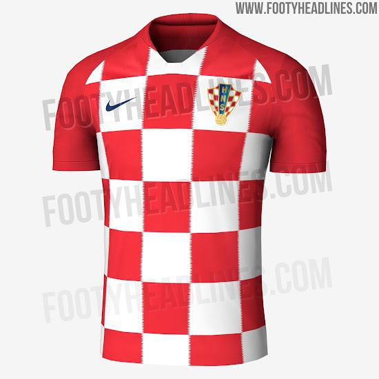 Nike Croatia 2018 World Cup Kit d71004c20