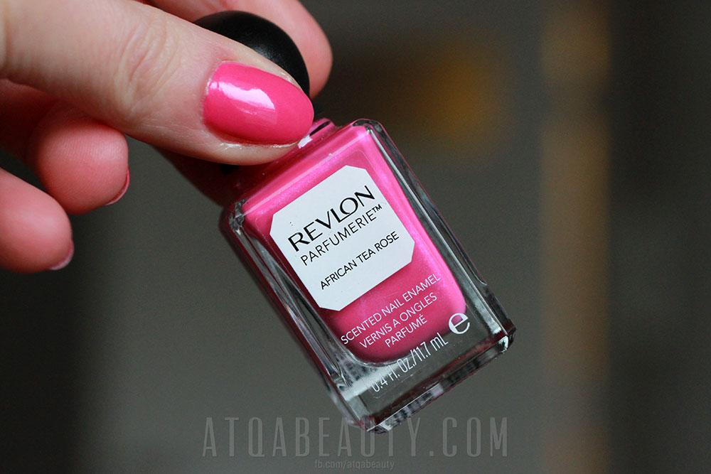 Revlon Perfumerie • African Tea Rose • Scented Nail Enamel