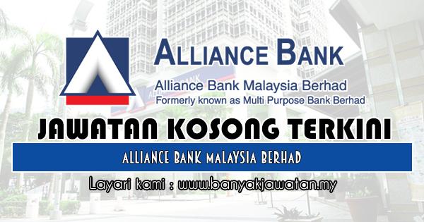 Jawatan Kosong 2018 di Alliance Bank Malaysia Berhad