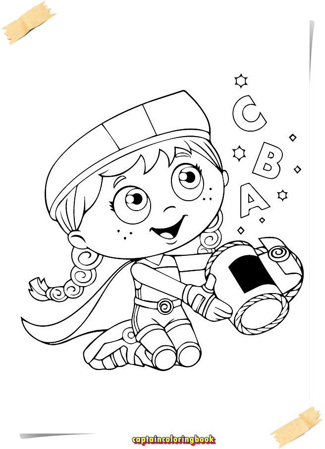 Super Why Coloring Pages download