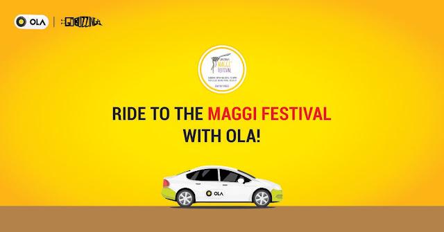 Free Maggi Dish by Ola @ Maggi Festival in Delhi