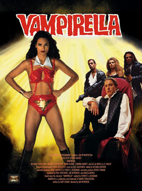 Vampirella, película estadounidense de 1996 basada en un comic de vampiros