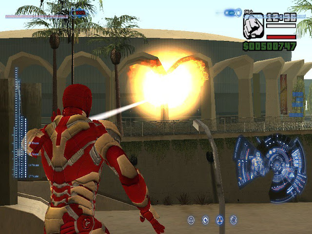 Download iron man mod with power for gta san andreas PC