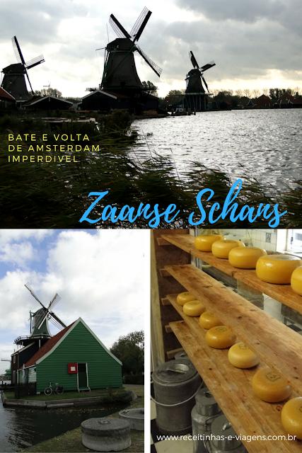 Bate e volta de Amsterdam: Conheça Zaanse Schans
