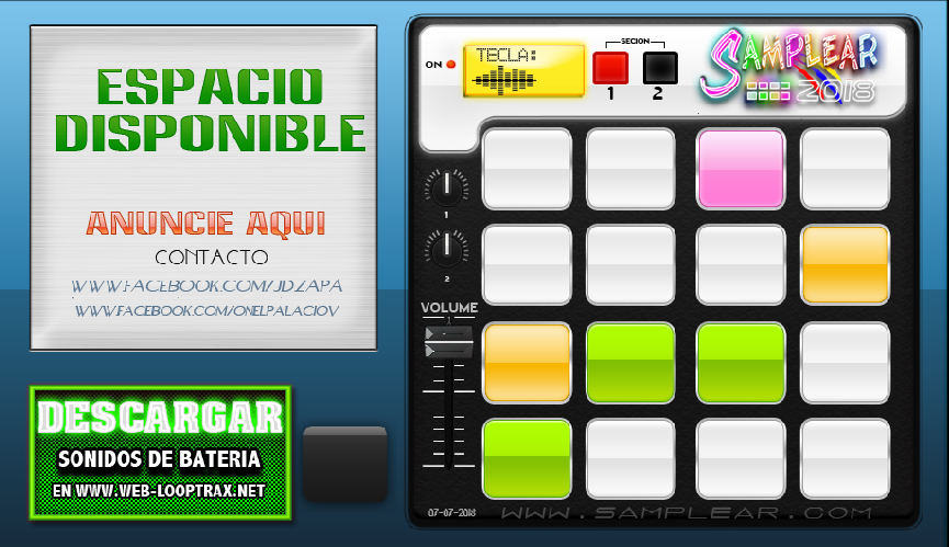 Tocar Sampler Virtual - Pad Sampler