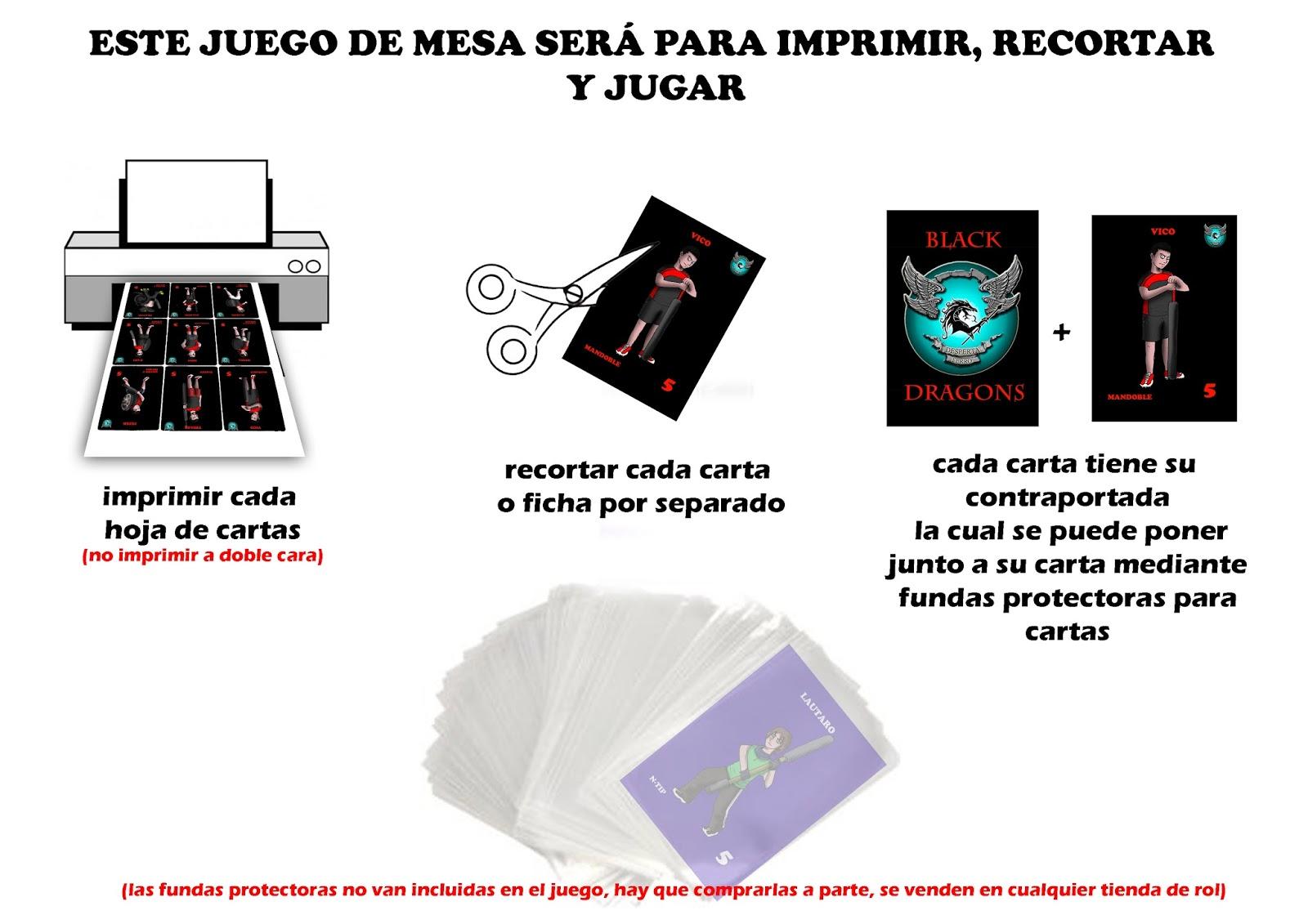 Luisocscomics Jugger Cards Juego De Mesa Para Imprimir Y Recortar