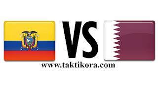 قطر والاكوادور بث مباشر اليوم