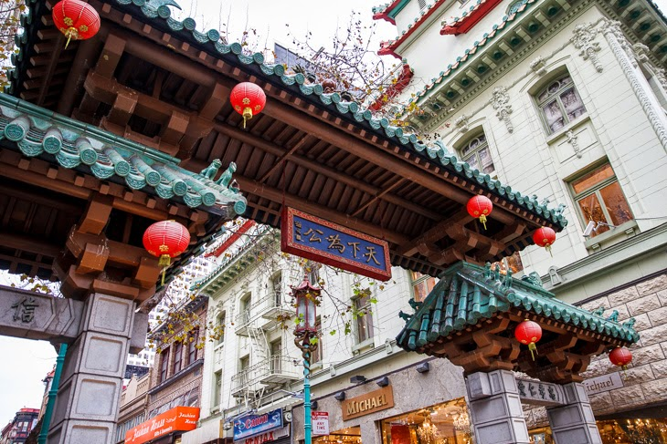 Passagem Gastronômica - Chinatown Gate - Chinatown - Roteiro de São Francisco - Estados Unidos