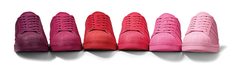 8cf8eededfc A coleção Adidas Superstar Supercolor é uma reedição da linha Adidas  Originals Superstar. Os tênis ganharam um visual pop em cores vibrantes com  diferentes ...