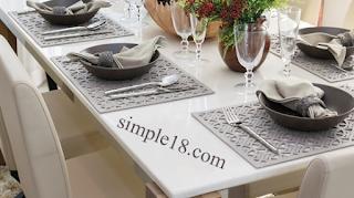 ترتيب المائدة