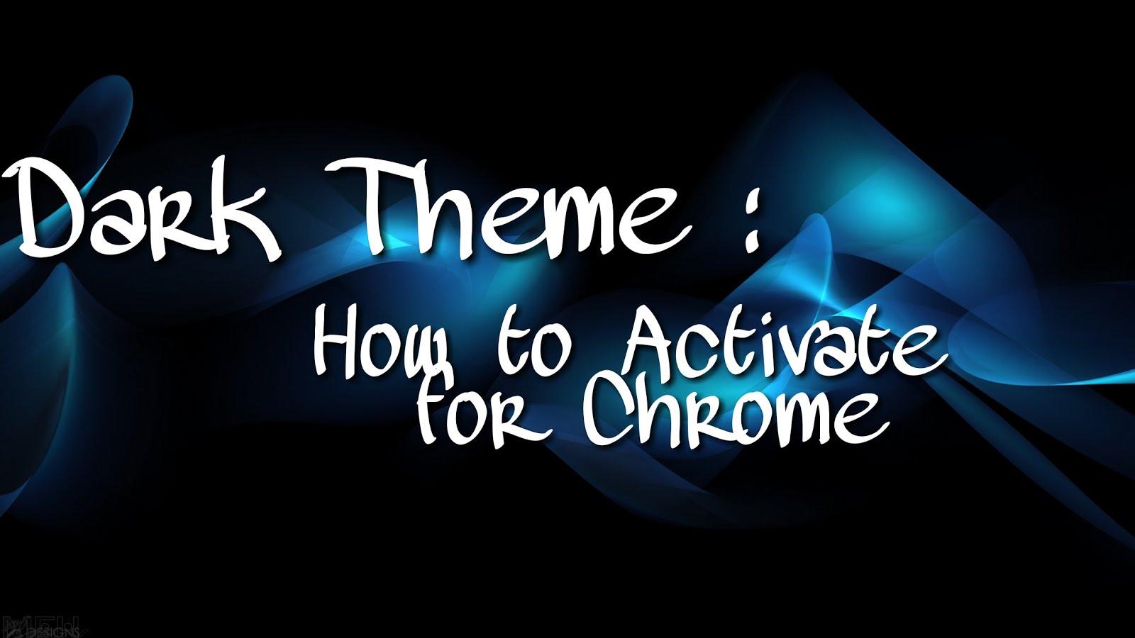google chrome android dark theme