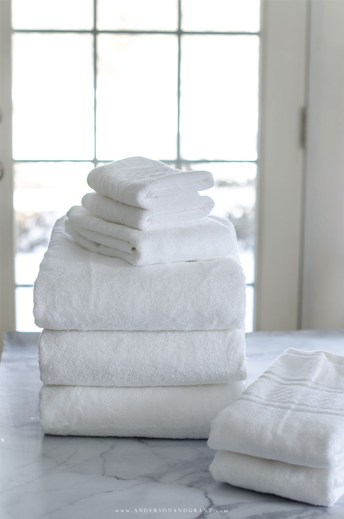 Fold Towels Just Like Martha Using This Easy Tutorial Organize Homekeeping