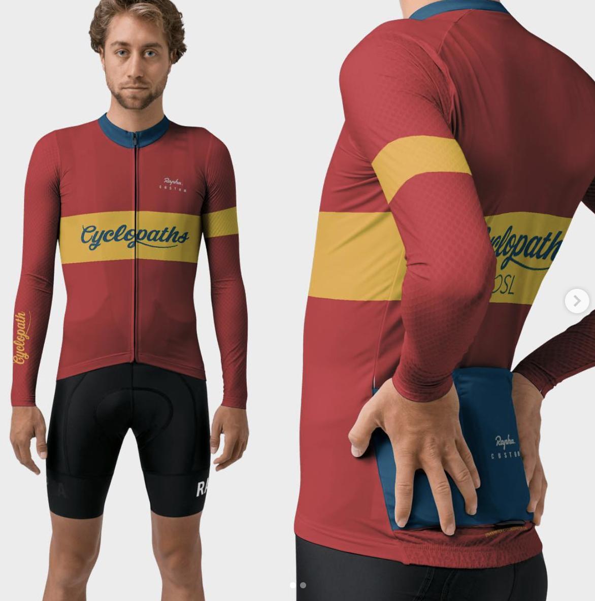 Cyclopaths OSL's Spanish themed 2019 kit