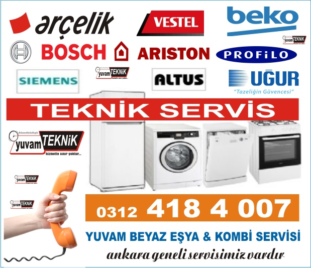 Ankara Beyaz Eşya Servisi