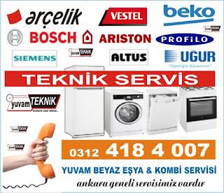 Ankara Buzdolabı Servisi