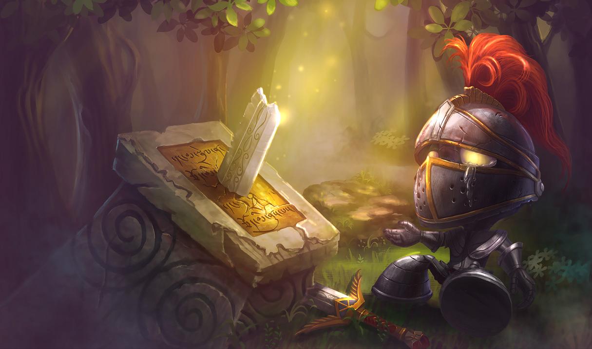 Little Knight Skin