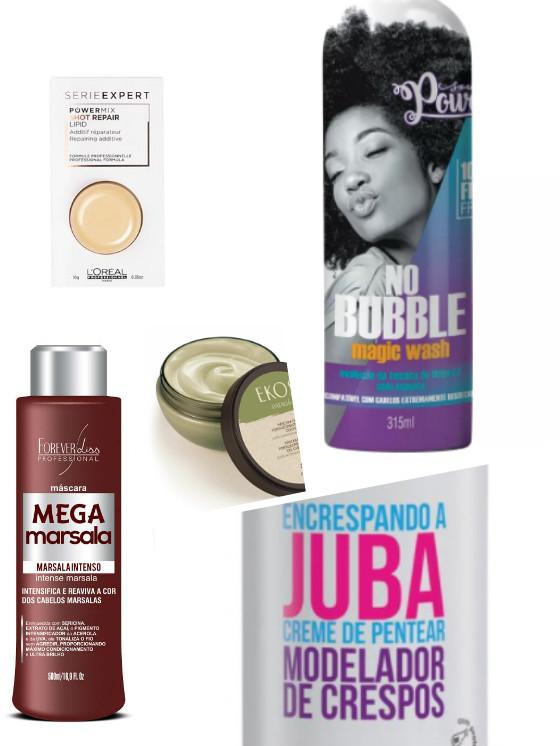 novos produtos cabelo low poo