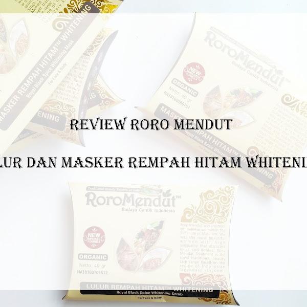 Review Roro Mendut Lulur dan Masker Rempah Hitam Whitening