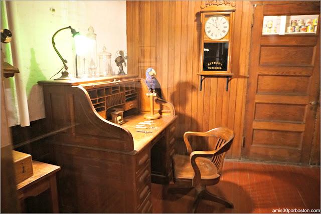 Despacho de William Gilmour en Marble House, Newport