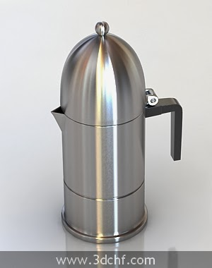 thermos flask 3d model