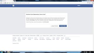 sukses memulihkan akun facebook yang disable