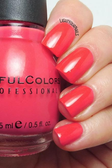 Smalto rosa corallo Sinful Colors Timbleberry coral pink nail polish #nails #unghie #sinfulcolors #lightyournails