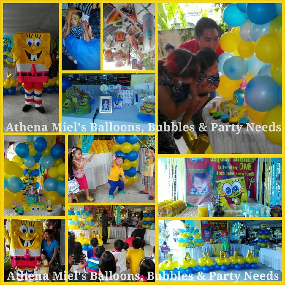 Spongebob birthday party theme davao city