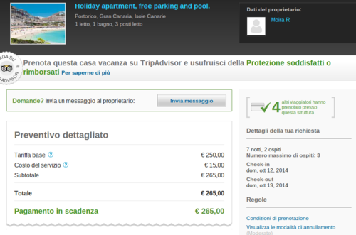 preventivo holiday lettings - tripadvisor rentals