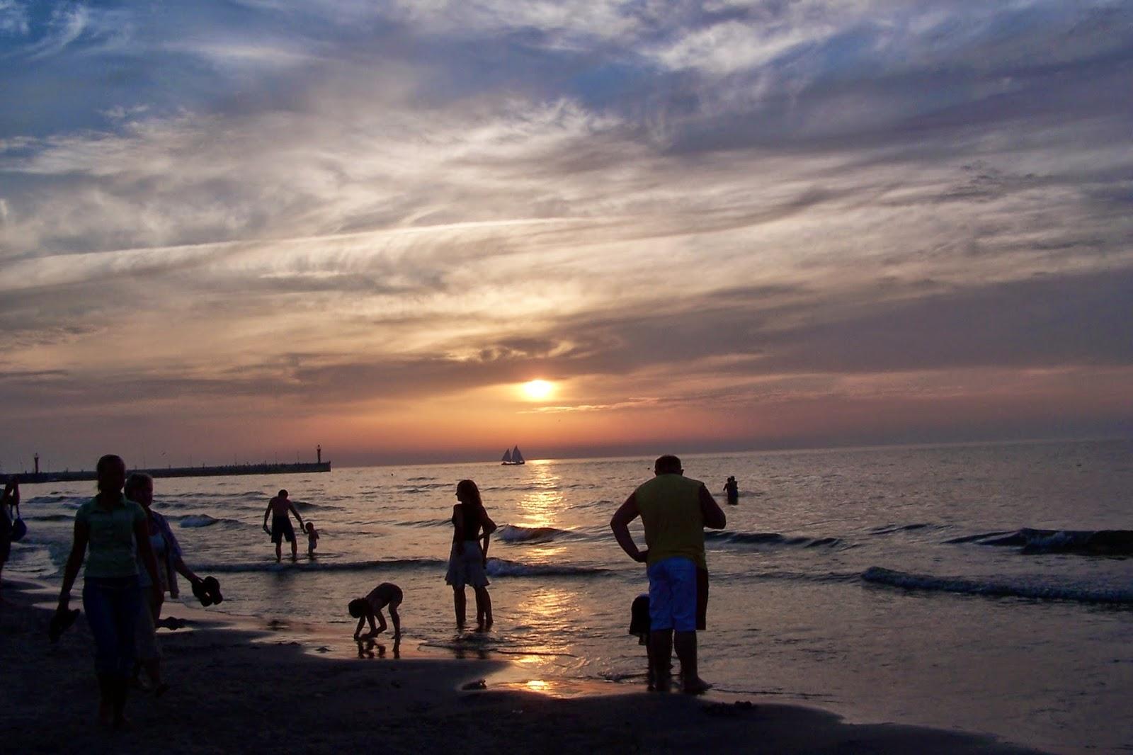 Zachody słońca- na pograniczu dnia i nocy