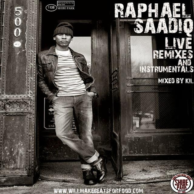Raphael Saadiq Live, Remixes & Instrumentals Mixtape