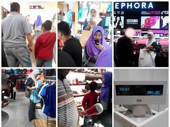 Shopping Raya Awal Dari Biasa dan Berbuka di Chakri Palace, KLCC