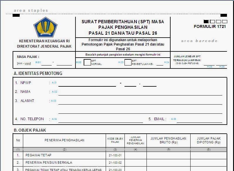 Lowongan Direktorat Jenderal Pajak 2013 Pusat Pengumuman Cpns Indonesia Ppci Cpns 2016 2017 Formulir Spt Masa Pph Pasal 21 Terbaru Untuk Tahun 2014 Tax Learning