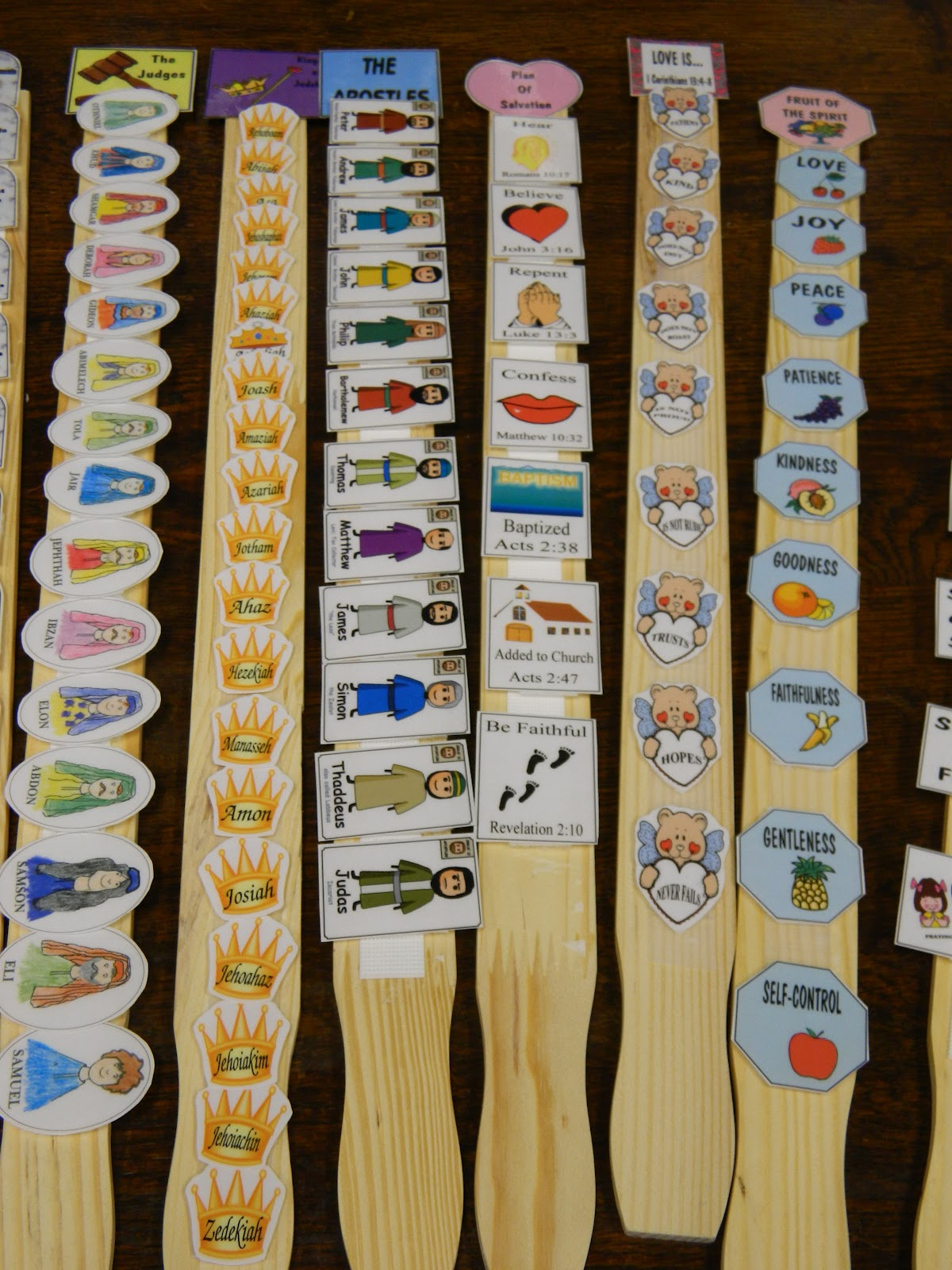 Hands On Bible Teacher Paint Paddles Turned Bible Facts